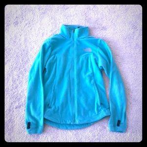 North Face Teal Fleece Jacket